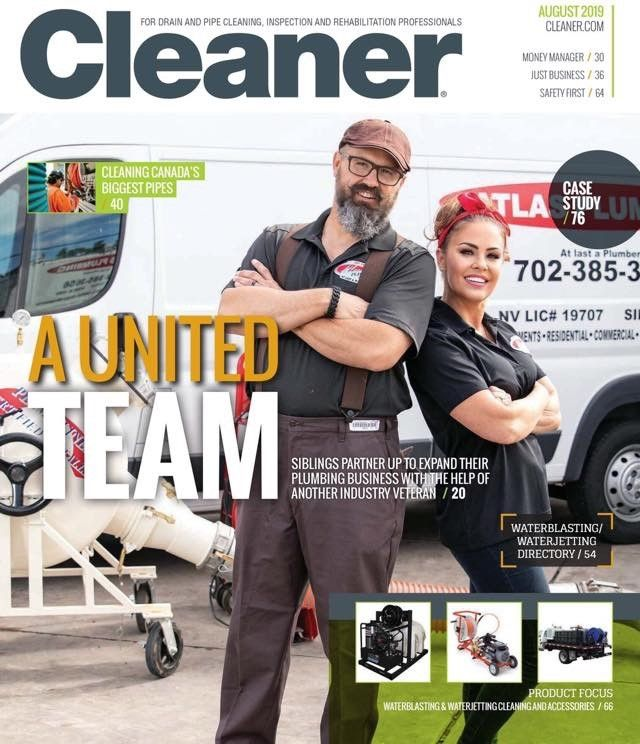 owners on cleaner magazine